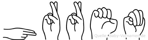 Hürrem in Fingersprache für Gehörlose