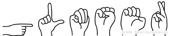 Gülümser in Fingersprache für Gehörlose