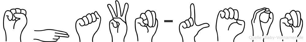 Shawn-Leon im Fingeralphabet der Deutschen Gebärdensprache