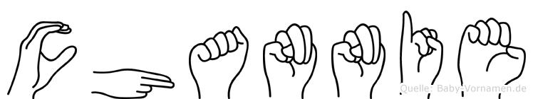 Channie in Fingersprache für Gehörlose