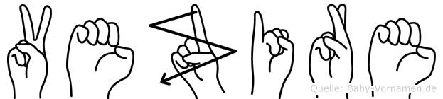 Vezire in Fingersprache für Gehörlose