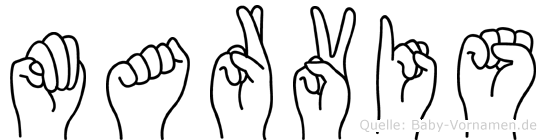 Marvis in Fingersprache für Gehörlose