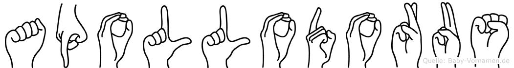 Apollodorus in Fingersprache für Gehörlose