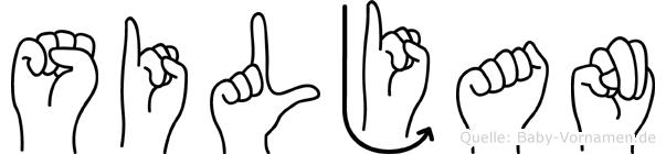 Siljan in Fingersprache für Gehörlose