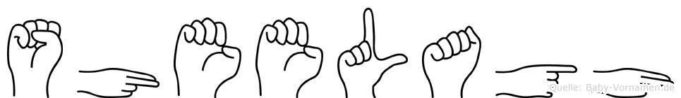 Sheelagh in Fingersprache für Gehörlose