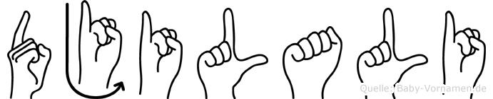 Djilali in Fingersprache für Gehörlose