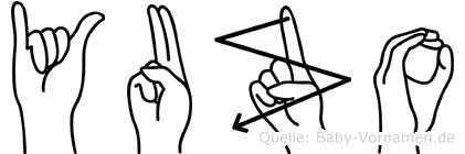 Yuzo in Fingersprache für Gehörlose