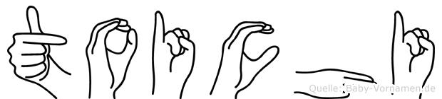 Toichi in Fingersprache für Gehörlose
