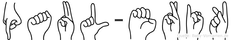 Paul-Erik im Fingeralphabet der Deutschen Gebärdensprache