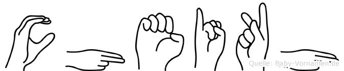 Cheikh in Fingersprache f�r Geh�rlose
