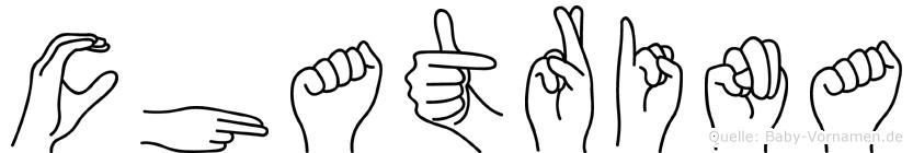 Chatrina in Fingersprache für Gehörlose