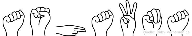 Ashawna in Fingersprache für Gehörlose