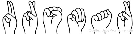 Ursmar in Fingersprache für Gehörlose