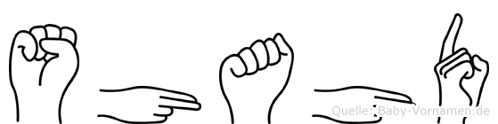 Shahd in Fingersprache für Gehörlose