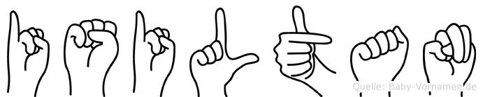 Isiltan in Fingersprache für Gehörlose