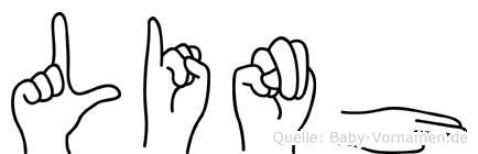 Linh in Fingersprache für Gehörlose