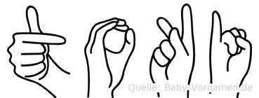 Toki in Fingersprache für Gehörlose