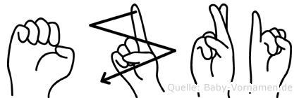 Ezri in Fingersprache für Gehörlose