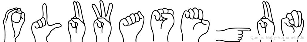 Oluwasegun in Fingersprache für Gehörlose
