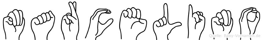Marcelino in Fingersprache für Gehörlose