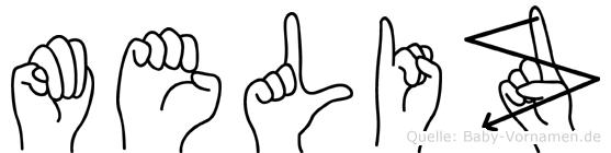 Meliz in Fingersprache für Gehörlose