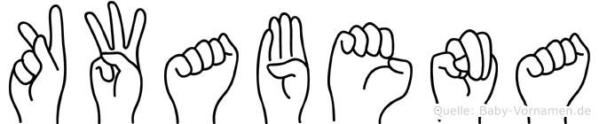 Kwabena in Fingersprache für Gehörlose