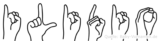 Ilidio in Fingersprache für Gehörlose