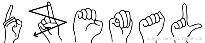 Dzemal in Fingersprache für Gehörlose