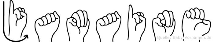 Jamaine in Fingersprache für Gehörlose