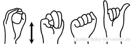 Önay in Fingersprache für Gehörlose
