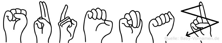 Sudenaz in Fingersprache für Gehörlose