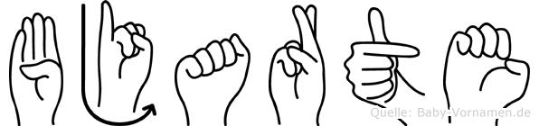 Bjarte in Fingersprache für Gehörlose