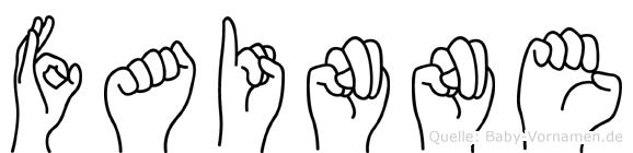 Fainne in Fingersprache für Gehörlose