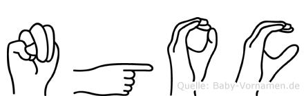 Ngoc in Fingersprache für Gehörlose
