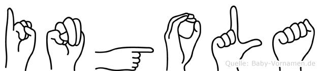 Ingola in Fingersprache für Gehörlose