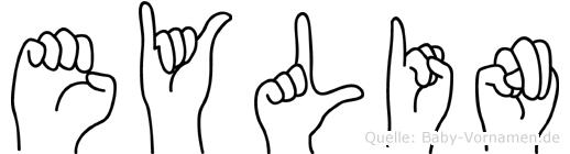 Eylin in Fingersprache für Gehörlose