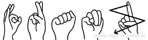 Franz in Fingersprache für Gehörlose