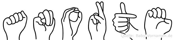 Anorte in Fingersprache für Gehörlose