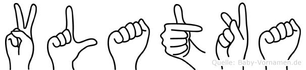 Vlatka in Fingersprache für Gehörlose