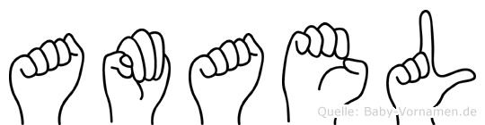 Amael in Fingersprache für Gehörlose