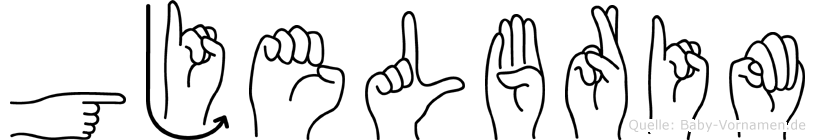 Gjelbrim in Fingersprache für Gehörlose