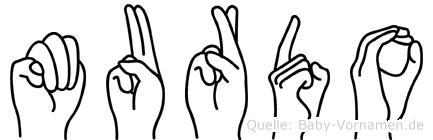Murdo in Fingersprache für Gehörlose