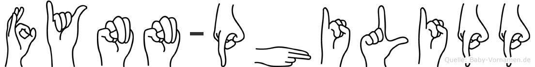 Fynn-Philipp im Fingeralphabet der Deutschen Gebärdensprache