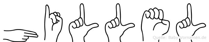 Hillel in Fingersprache für Gehörlose
