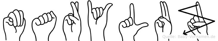 Maryluz in Fingersprache für Gehörlose