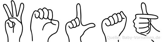 Welat in Fingersprache für Gehörlose