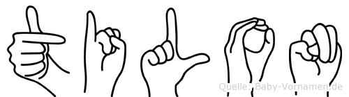 Tilon in Fingersprache für Gehörlose