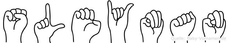 Süleyman in Fingersprache für Gehörlose