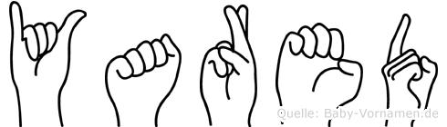 Yared in Fingersprache für Gehörlose