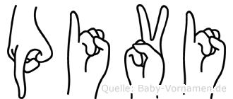 Päivi in Fingersprache für Gehörlose